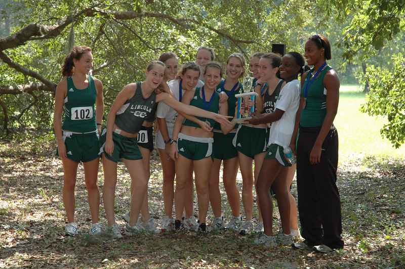 2nd overall Girls' team, Lincoln.