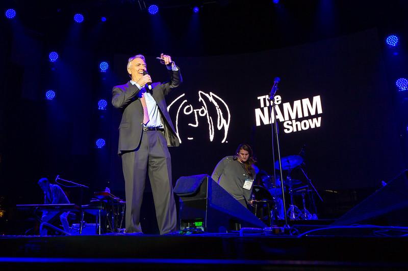 2019_01_26, Anaheim, CA, Imagine Party, NAMM, Joe Lamond
