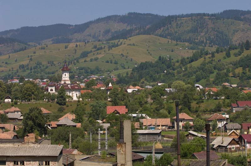 Village view, Sadova, Moldavia, Romania