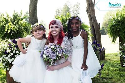 Alexis Flower Girl - Porter Wedding