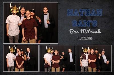 Sam and Nathan's B'Nai Mitzvah Photo Booth Prints