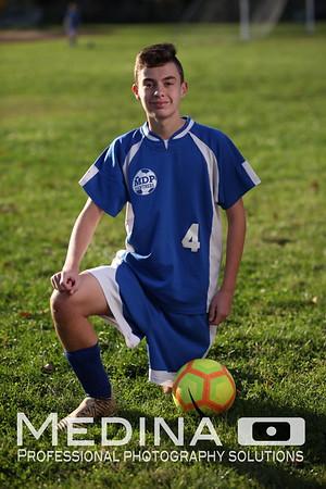 Varsity Soccer Team Photos