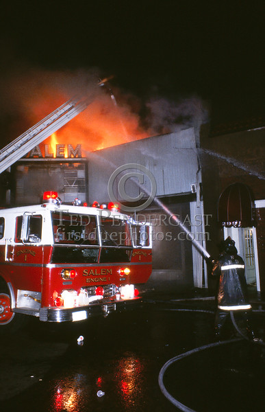 June 18,1987 - Salem,MA - 2 Alarms in a vacant movie theatre on Essex St