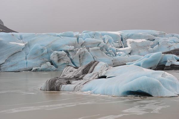 Iceberg Dans La Lagune Glaciaire De Jokulsarlon