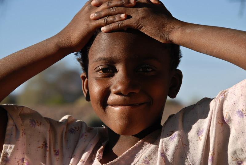 Girl, Namibia