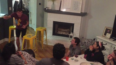 Game Night with Seminarians