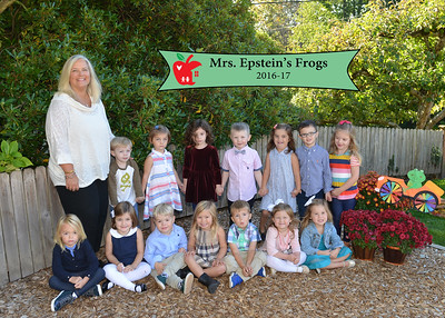 2016 Mrs. Epstein's Frogs Lisa Walker's Preschool