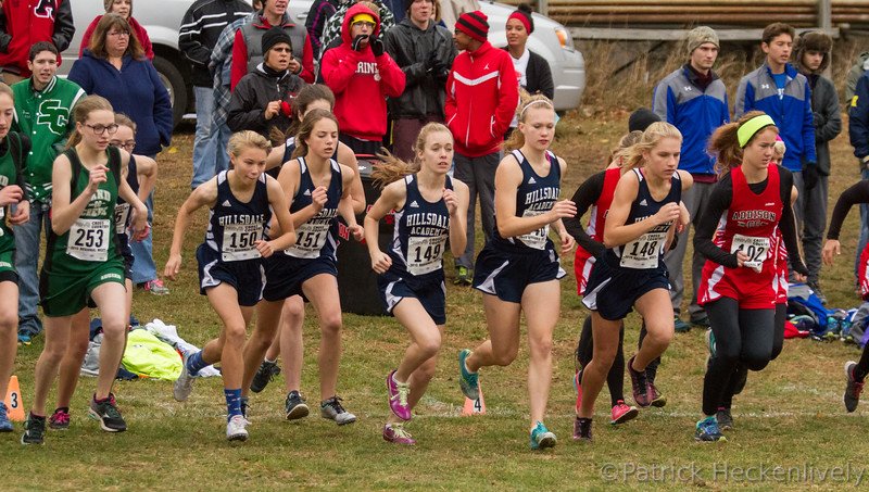2015-10-31 Hillsdale Academy Varsity Cross Country at Regionals