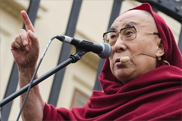 Public welcoming of HH Dalai Lama in Czech Rep 2016