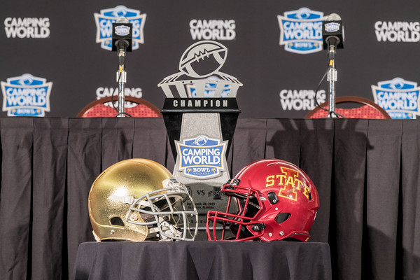 Camping World Bowl press conference 12/27/19
