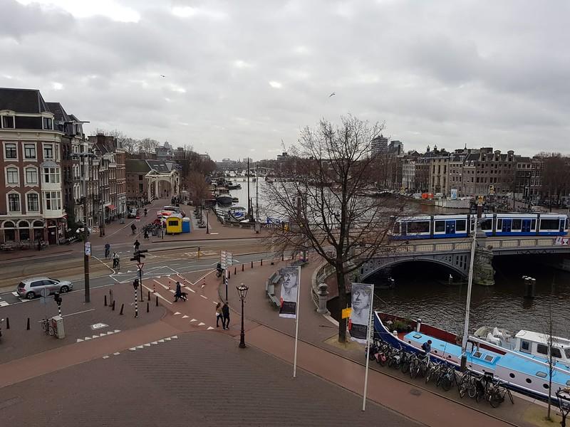 Blue bridge - Blauwbrug view from Opera & Ballet