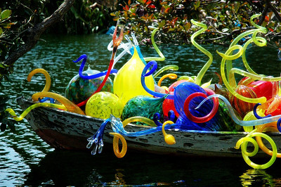 Chihuly in Fairchild Gardens, Miami