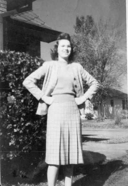 Maria Jacob Christmas 1945