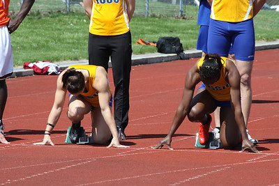 Men's and Women's 100 Meters - 2012 Ferris State Invitational