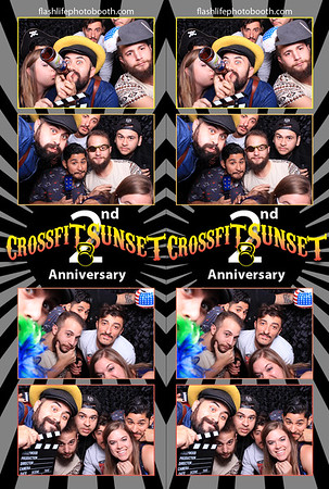 Crossfit Sunset 2nd Anniversary