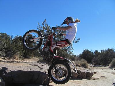 San Ysidro Trials Area - Trials Practice  1-19-14