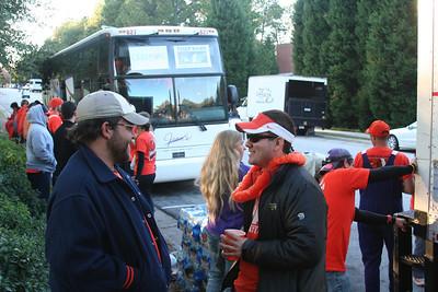 Clemson at Georgia Tech - Photos by Ed Evans