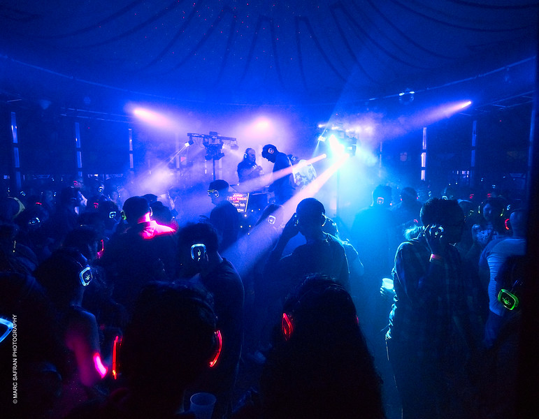 Silent Rave Party, Rochester Fringe 2019