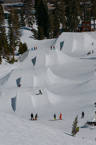 Sick and Twisted Big Air Skiing and Snowboarding Jumping Championship Alpine Meadows