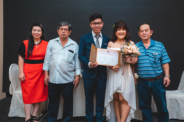 Ting Ting & Chun Hong ROM Group photos