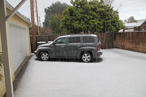 2011 0226-28 Snowfall in Burbank
