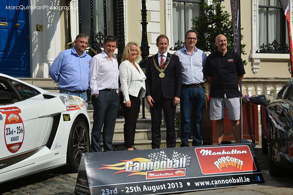 Cannonball 2013 Launch Party