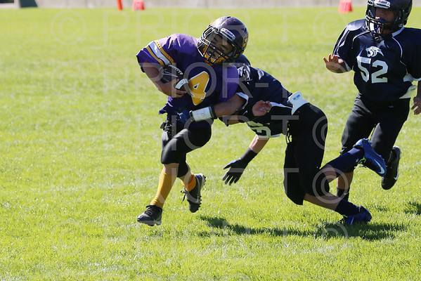 October 4th, 2014 5th Grade YAFL Bayfield Wolverines vs Farmington Panthers