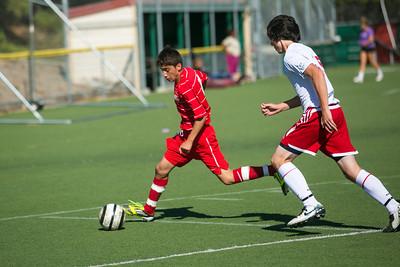 RCS Boys' Varsity Soccer vs Valley - 09.11.12