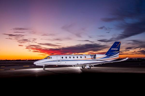 Citation Sovereign N492CA (High Res)