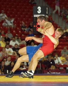 Greco-Roman Championships 96 Kg: 1st Place - Adam Wheeler ((Gator WC)  2nd Place - Justin Ruiz (NYAC)