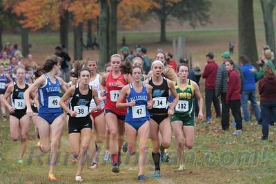 Womens 6K @ 1200m - 2015 GLIAC XC Championships