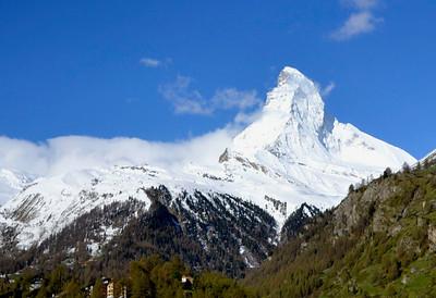 Zermatt Village/Switzerland - May, 2013