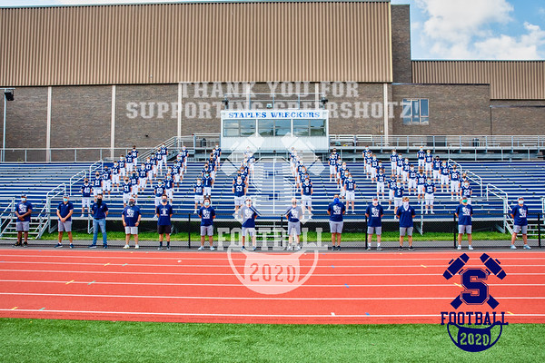 2020 Staples Football - Varsity Team Photos