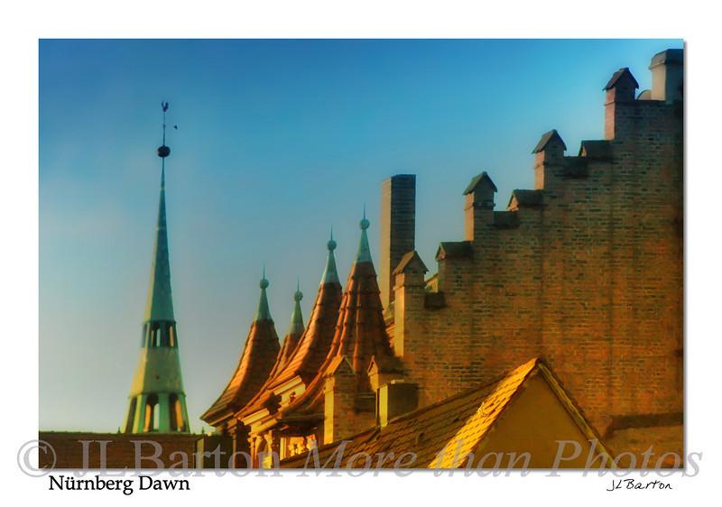 Nürnberg at Dawn Germany