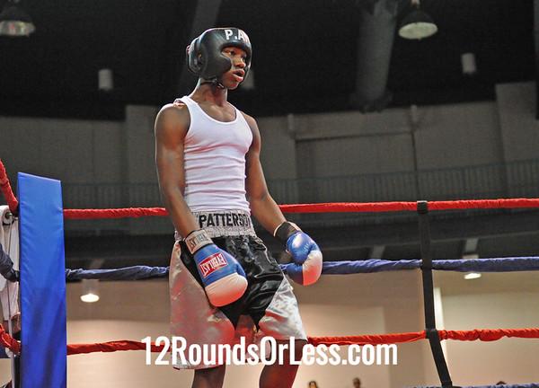 Lucian Clinkscale (Downtown B.C.) vs Levi Patterson (Thelma George/Empire Rec) 152 Pounds-Open  Bout # 6