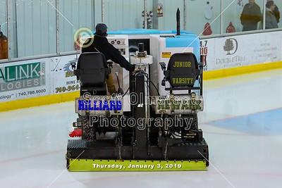 2018 JV Hilliard Wildcats at Newark Generals (01-03-19)