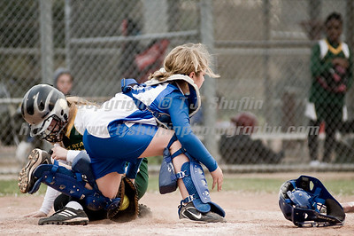 03-11-09 - Softball vs St. Rita