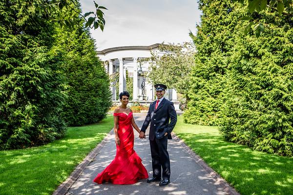 wedding of Charleen & Dom