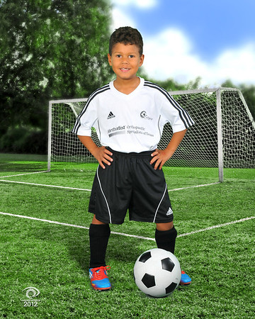 2012 Soccer Team pics