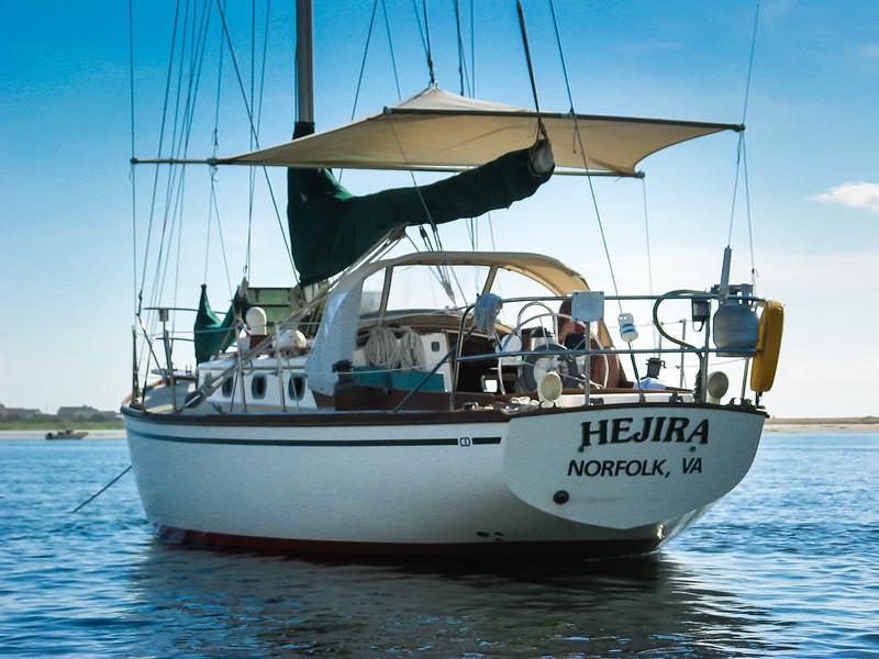 The cutter 'Hejira'