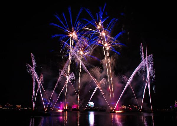 WDW EPCOT-World Showcase - Illuminations - 4Nov15