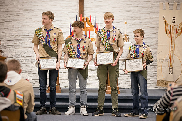 Troop 107 -  Eagle Court of Honor