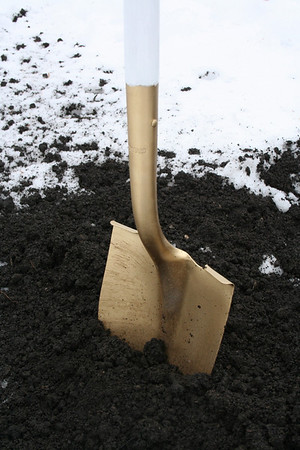 Groundbreaking, Sacred Heart at Monastery Lake