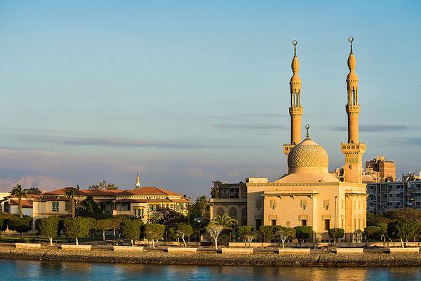 Suez Canal - April 2014