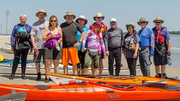 2018-04-16 Jekyll Island Area Spring Paddle Trip