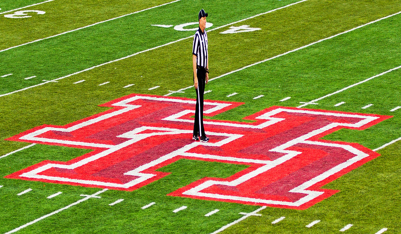 """Referee says: """"I own the field."""""""