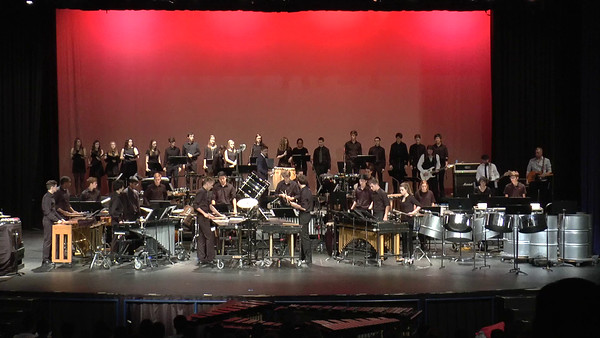 Percussion Show - Pixelated! 5/7/2016