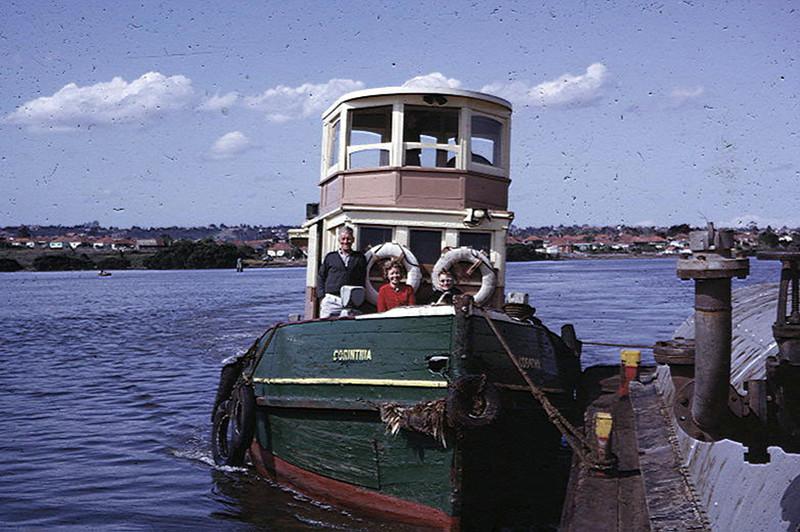 1964 - Parramatta River Shell Tug Trip