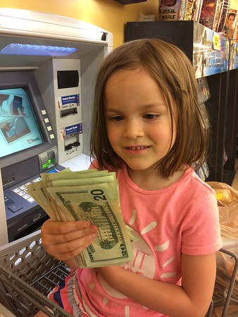 Oh NO Kiersten likes money..