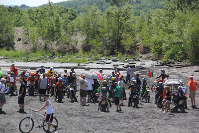 RORR Race, Day 1, Youth, Mountains west of Tamaqua (6-23-2012)